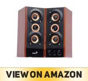 Genius 3-Way Hi-Fi Wood Speakers