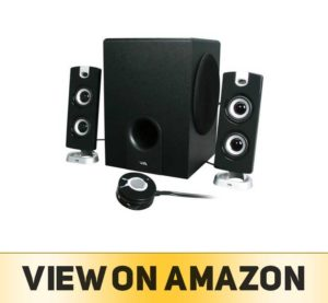CYBER Acoustics 2.1 Computer Speaker with Subwoofer