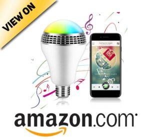 ICOCO Bluetooth Smart Speaker Light E27 LED