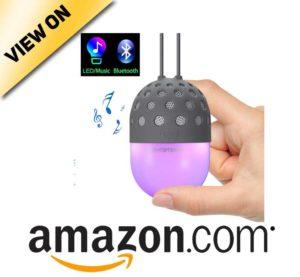 Lightstory Mini Bluetooth Speaker with Colorful LED Light