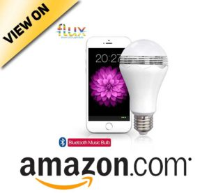 Fluxx2122; Blast - LED Light Bulb with Bluetooth