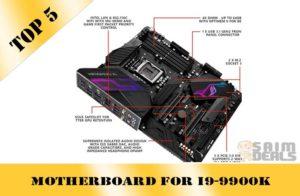 Best motherboard for i9-9900K in 2020