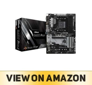 ASRock B450 Pro4 Motherboard for Desktop