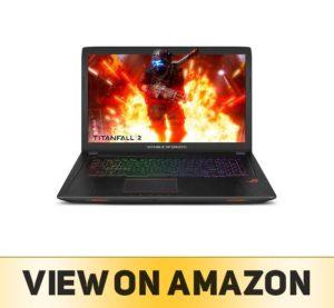"""ASUS ROG Strix GL753VD 17.3"""" Gaming Laptop GTX"""
