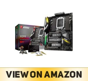 MSI Gaming AMD Ryzen ThreadRipper DDR4 VR Ready HDMI
