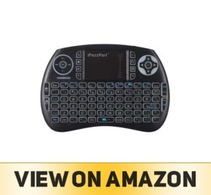 iPazzPort Backlit Keyboard and Bluetooth Mini Wireless Keyboard