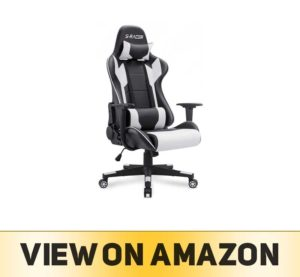 Homall Gaming Chair Office Chair High Back Computer Chair PU Leather Desk Chair PC Racing Executive