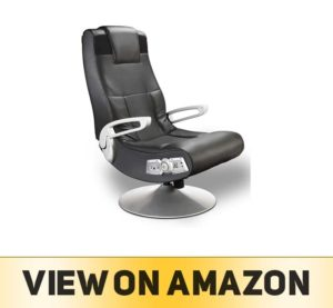 X Rocker SE 2.1 Black Leather Video Gaming Chair for Adult