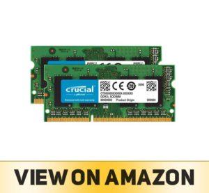 Crucial 8GB Kit (4GBx2) DDR3/DDR3L 1066