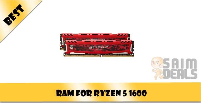 Best RAM for Ryzen 5 1600