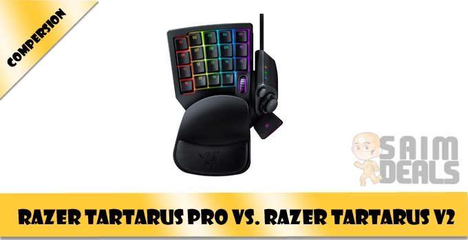 Razer Tartarus Pro vs. Razer Tartarus V2